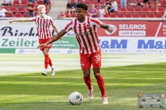 Ronny Marcos (Kickers Offenbach #31), Kickers Offenbach vs. FC 08 Homburg, Offenbach, Stadion am Bieberer Berg, 14.8.2021